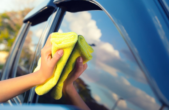 clean the car in summer